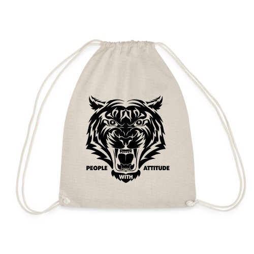 tijger-zwart - Gymtas