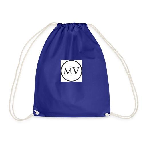 MV MrVlogs LOGO - Drawstring Bag