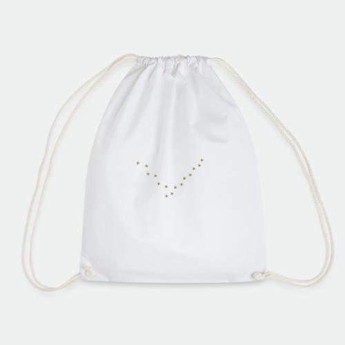 Snowflake Starglitter - Drawstring Bag