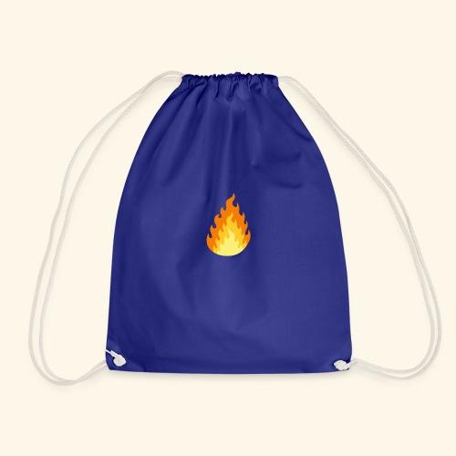 Logotipo Increíble de fuego - Mochila saco