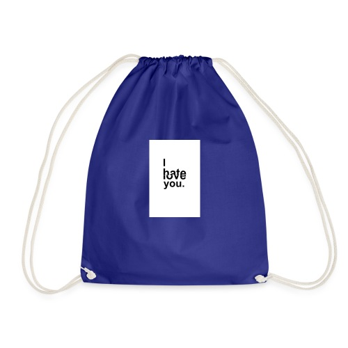 I Hate You But I Love You - Drawstring Bag