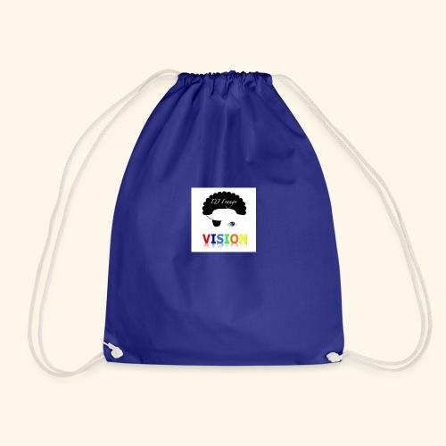 DJ Frango - Vision Track Artwork - Drawstring Bag