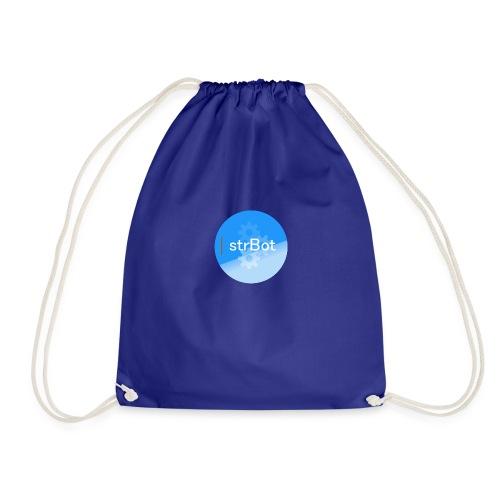 strBot Circle - Drawstring Bag
