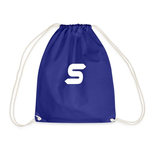 White Design - Drawstring Bag