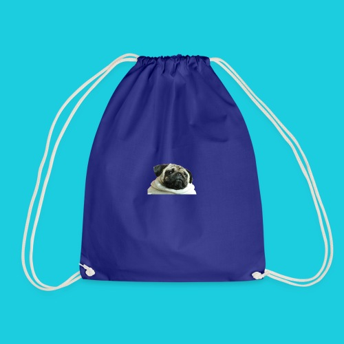 summer body pug - Drawstring Bag