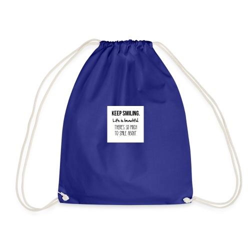 smileing - Drawstring Bag