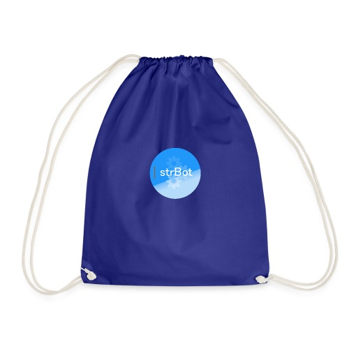 strBot Circle - Drawstring Bag
