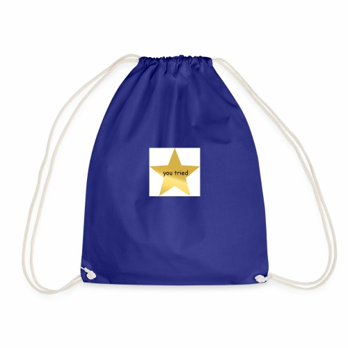 You Tried Star - Drawstring Bag
