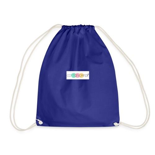 COTTON CANDY LOGO - Drawstring Bag