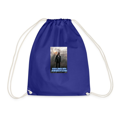 Don't mess with MarcelPlay Games - Drawstring Bag