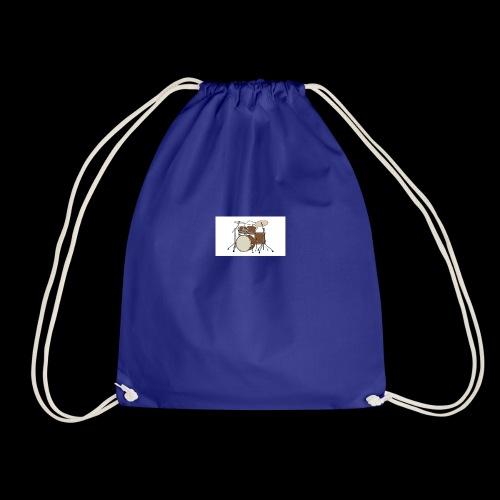 bongo cattttttttttt - Drawstring Bag