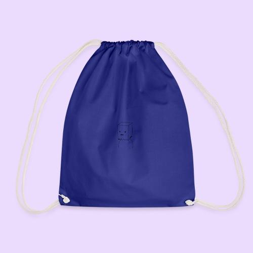 Paper Bag Guy - Drawstring Bag
