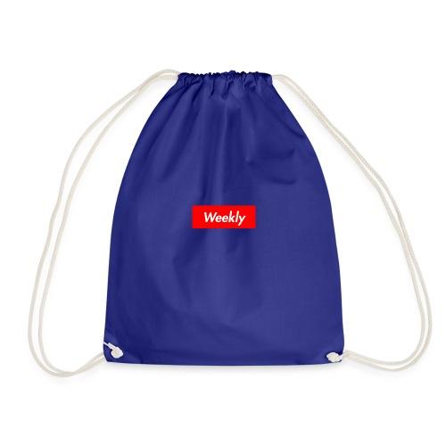 Weekly - Drawstring Bag