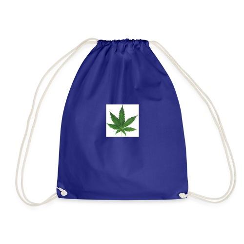 sticker feuille de cannabis - Sac de sport léger