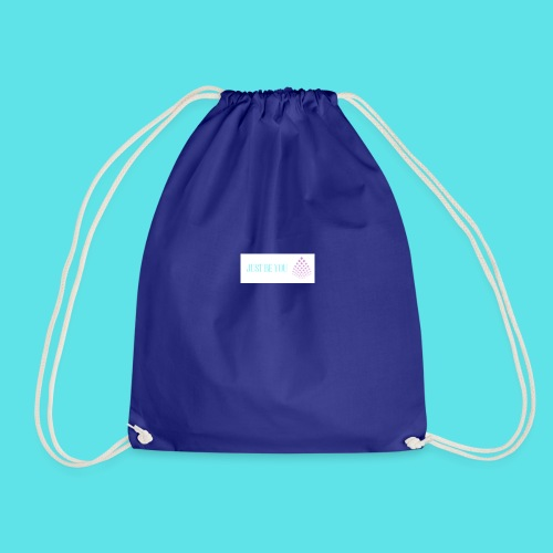 Just be u - Drawstring Bag
