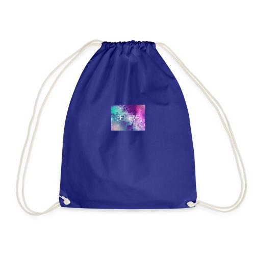 believe in dreams - Drawstring Bag