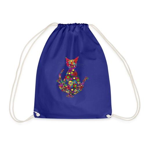 Woodstock Yoga Cat - Turnbeutel