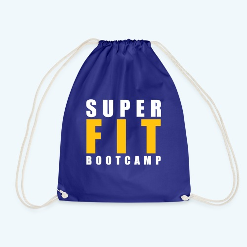 Superfit Logo on colour (non white) products - Drawstring Bag