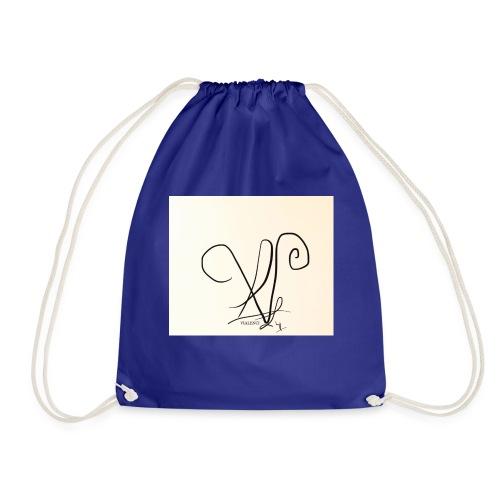 Vialenci symbol Design by Nadine vial - Turnbeutel