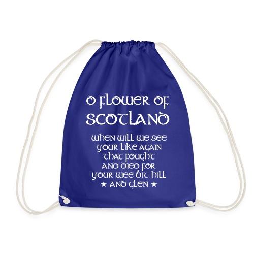 Scotland Rugby Union national anthem - Drawstring Bag