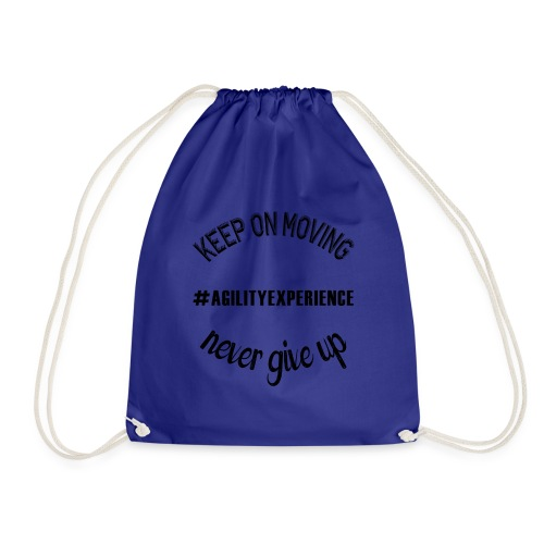 Never Give Up Black #agilityexperience - Sac de sport léger