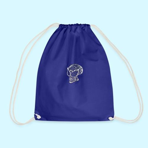 smokey Skull - Drawstring Bag