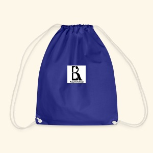band logo Black - Drawstring Bag