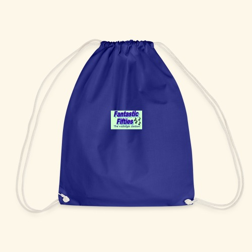 The nostalgia station - Drawstring Bag