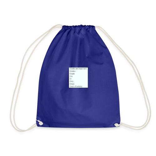 greys anatomy life - Drawstring Bag