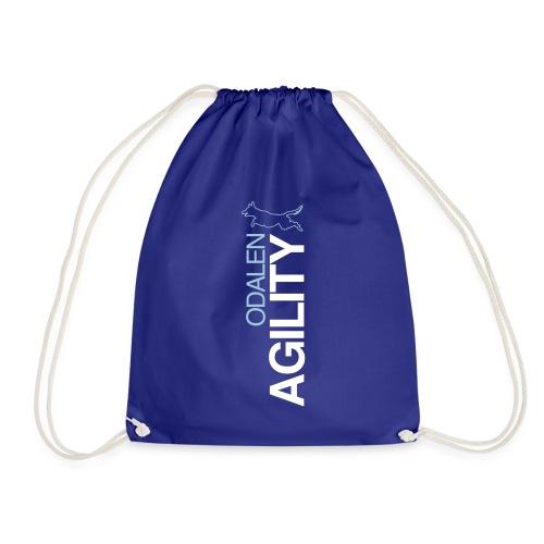 odalen agility blue1 - Drawstring Bag