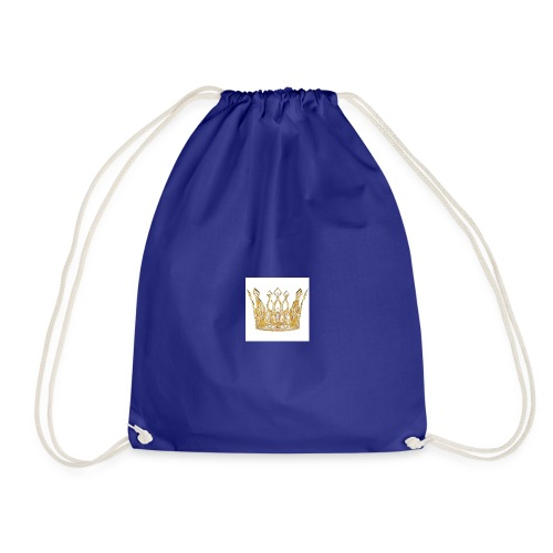 kingsammytvs crown - Drawstring Bag