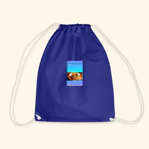 chilling with frileedake1 - Drawstring Bag