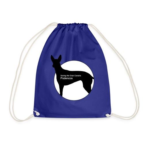 SGCP LOGO WHITE CENTRE - Drawstring Bag