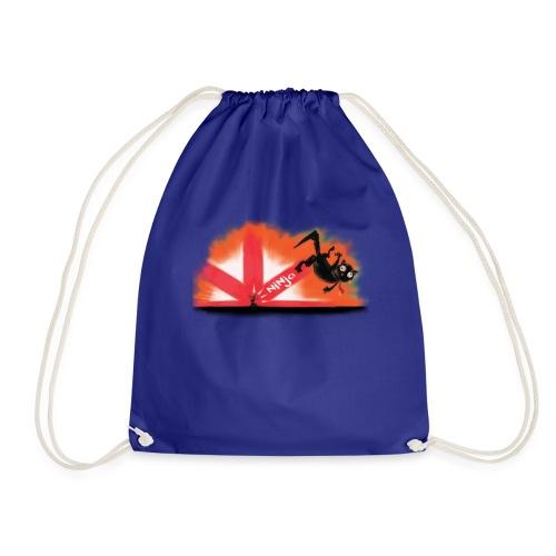 The Mysterious Ninja Mouse - Drawstring Bag