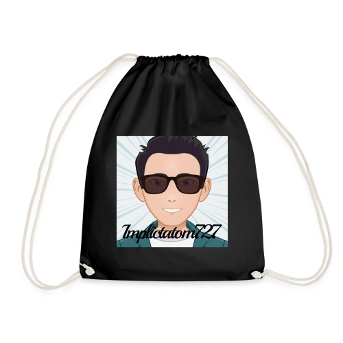 Implictatom727 Official Iconic Profile Pic. - Drawstring Bag