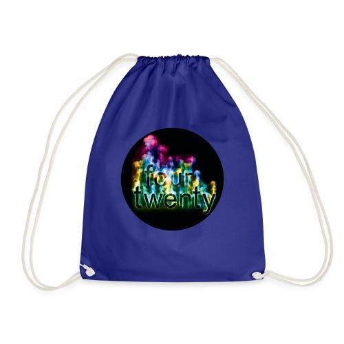 420 - four twenty cannabis marijuana - Drawstring Bag