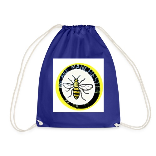 Manchester one love - Drawstring Bag