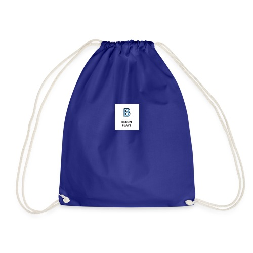 Bexon plays logo - Drawstring Bag