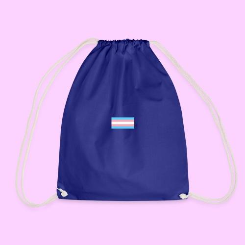 Lowkey Trans Pride - Drawstring Bag