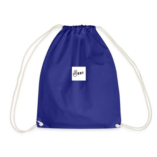 JFFC peace out merch - Drawstring Bag