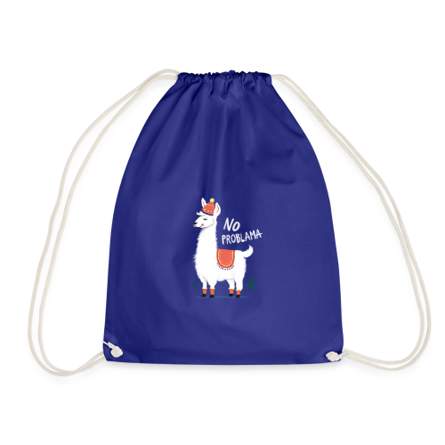 No ProbLama - Drawstring Bag