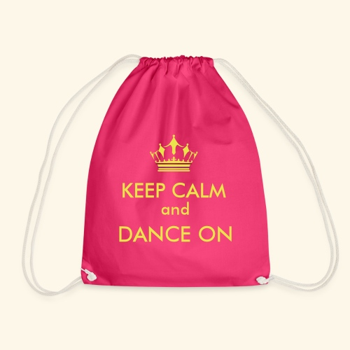 Keep calm and dance on - Turnbeutel