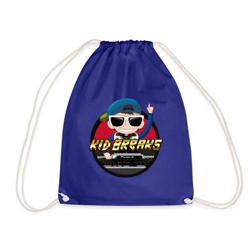 Kid Breaks Revamped Logo - Drawstring Bag