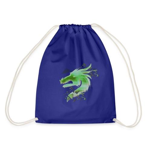 Green Dragon - Drawstring Bag