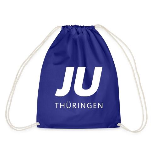 JU Thüringen weiß quadrat - Turnbeutel