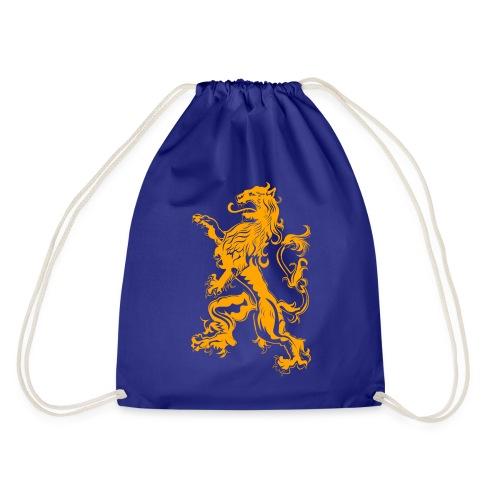 NL Leeuw Oranje Koningsdag - Gymtas