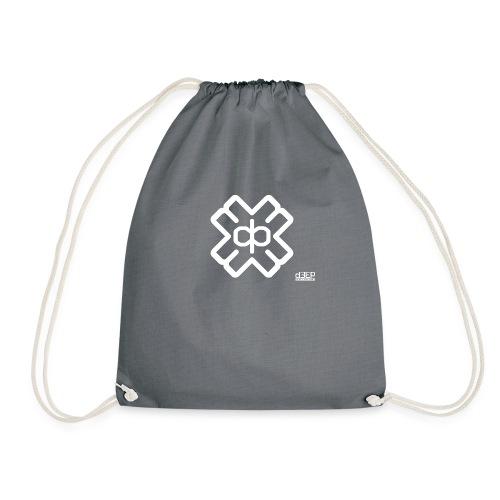 d3eplogowhite - Drawstring Bag