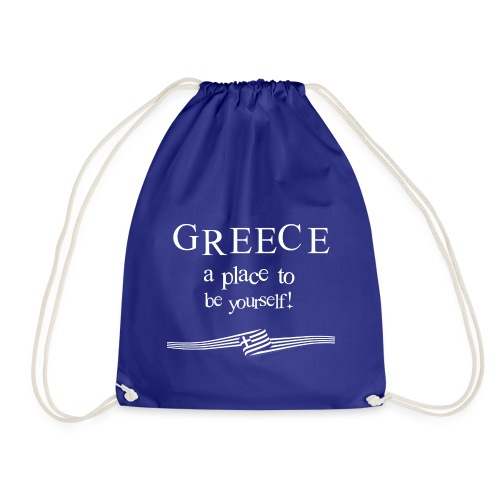 GREECE a place to be yourself - Turnbeutel