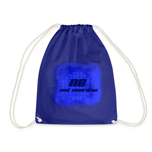 The blue bags - Drawstring Bag