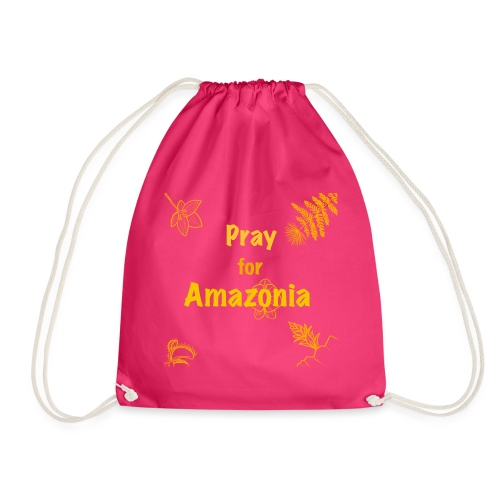 Pray for Amazonia - Turnbeutel